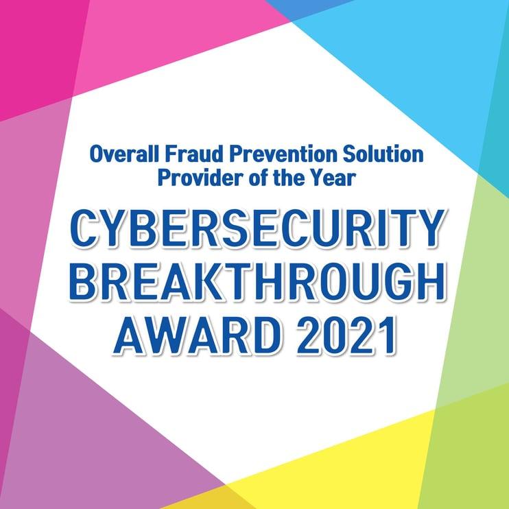 CyberSecurity Breakthrough Award 2021 4MP