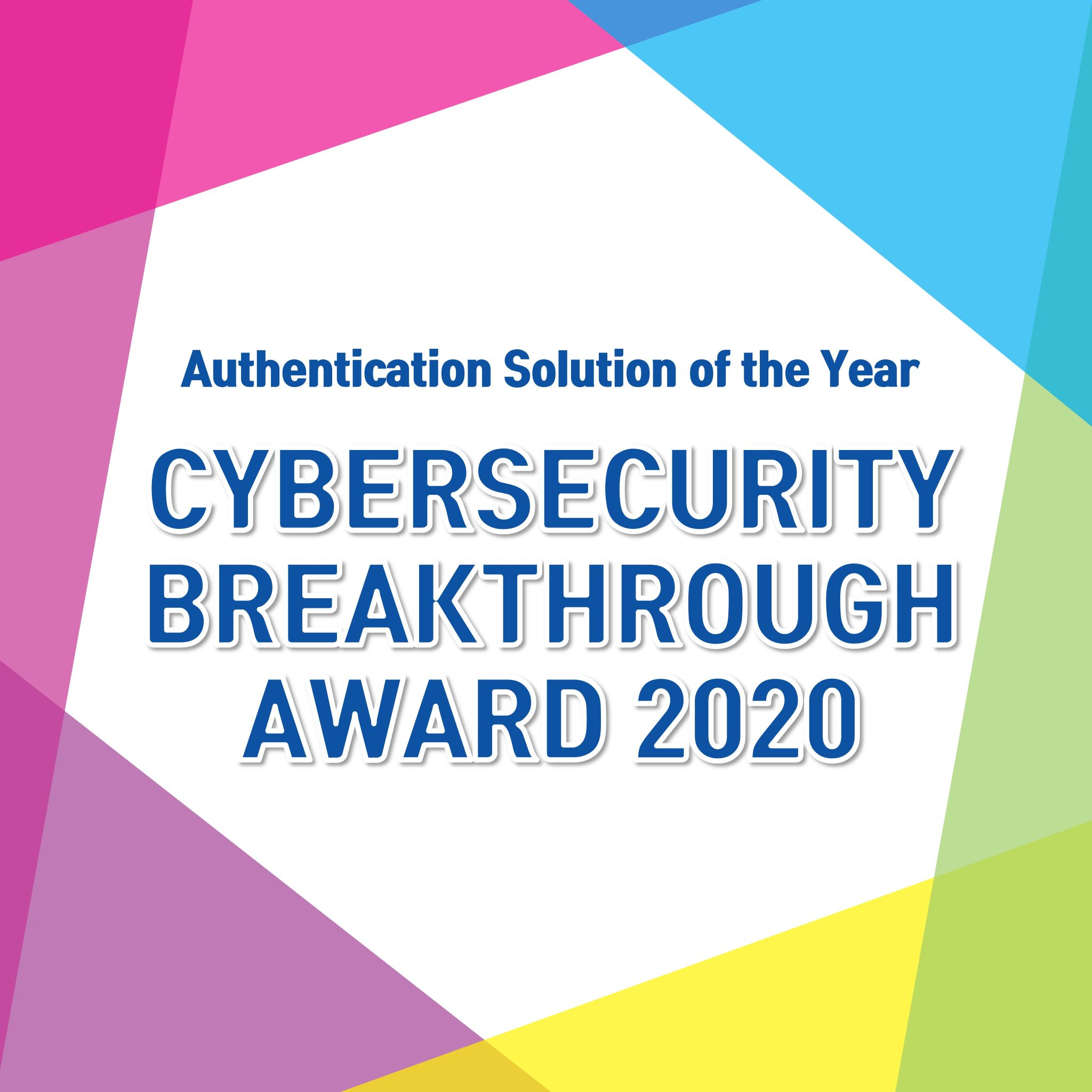CyberSecurity Breakthrough Award 2020 (1)
