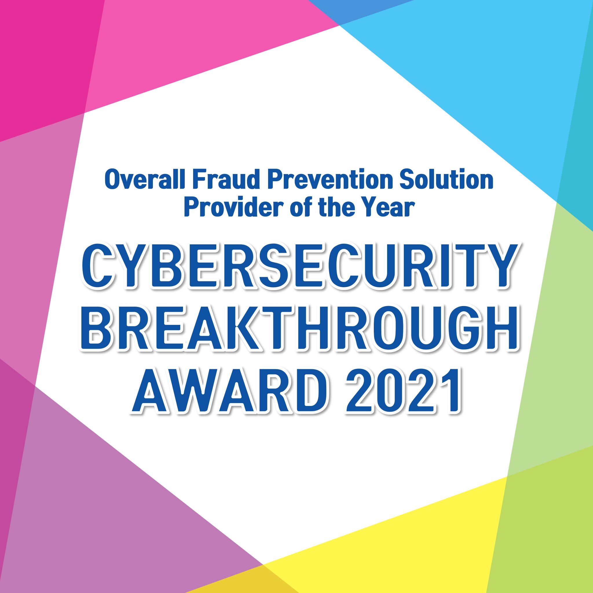 swIDch Wins 'Overall Fraud Prevention Solution Provider of the Year' 2021