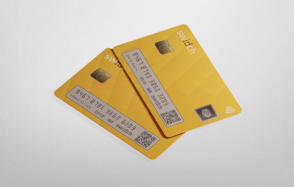 Biometric Display Card