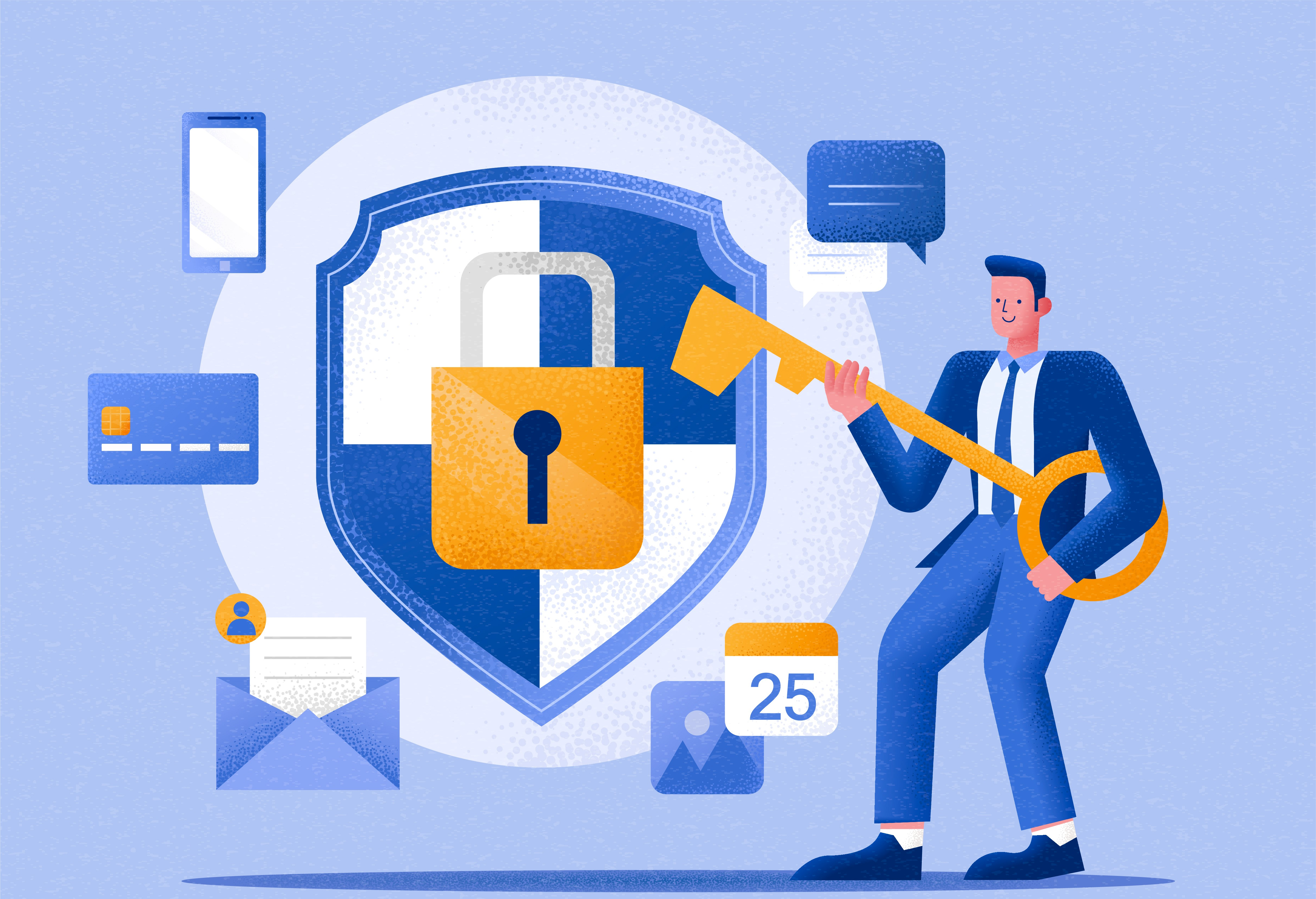 How does CIAM protect your customer's account information?